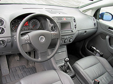 Снятие передней панели Volkswagen Golf 5
