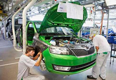 Сколько времени собирается машина на конвейере в калуге шкода ремонт фольксваген транспортер в спб
